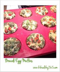 healthy egg muffin