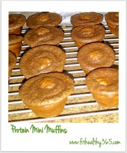 protein mini muffin snack