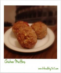 eat clean chicken muffins