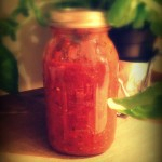 eat clean homemade spicy salsa