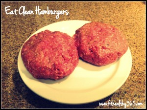 healthy hamburgers