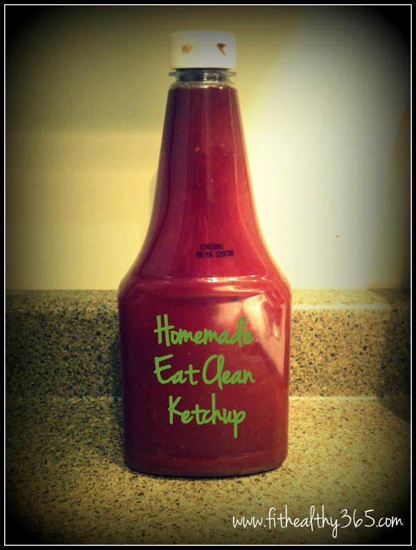 healthy homemade ketchup