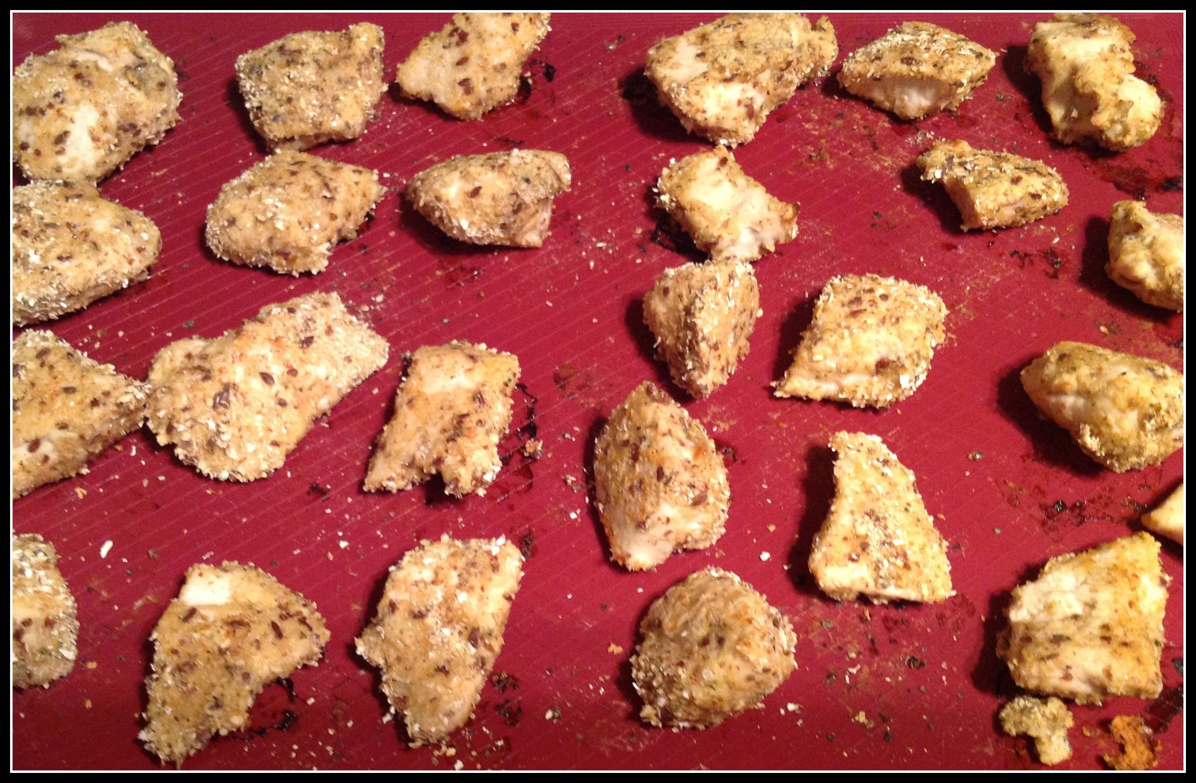 clean chicken nuggets
