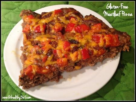 gluten-free meatloaf pizza