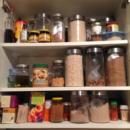 kitchen pantry checklist