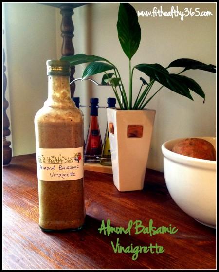 almond balsamic vinaigrette