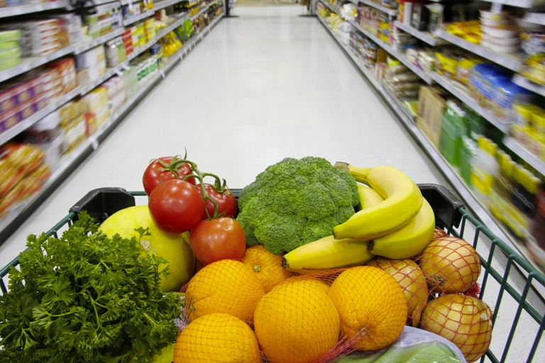 grocery shopping tips for clean eating