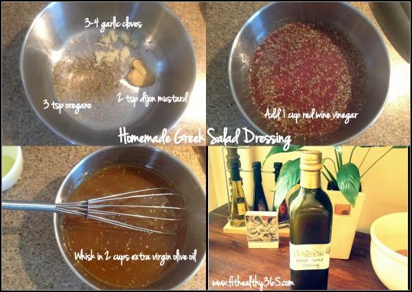 Homemade Greek Salad dressing recipe