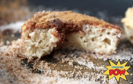 healthy cinnamon donuts