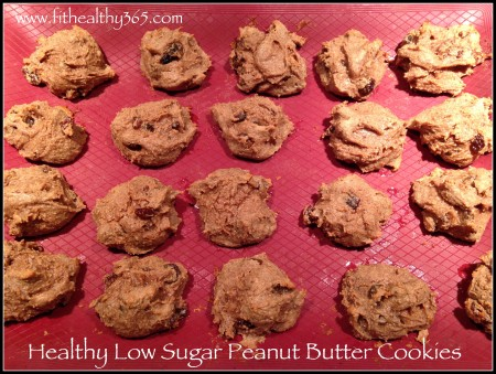 clean healthy peanut butter cookies