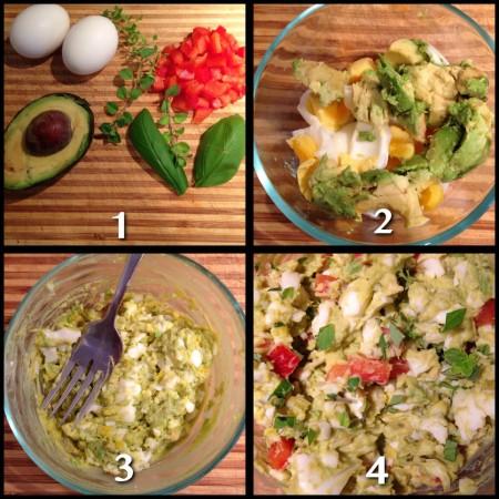 Mayo-Free Egg Salad