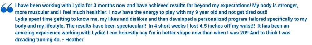 online training client testimonial