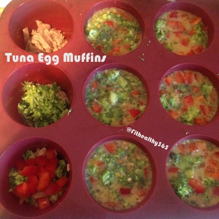 healthy tuna egg muffins