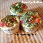 healthy breakfast tuna egg muffins