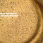 homemade Low Sodium Bouillon