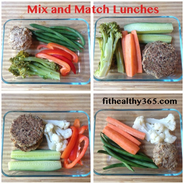 Mix and Match adult lunch ideas