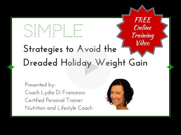 free training video avoid holiday weight gain