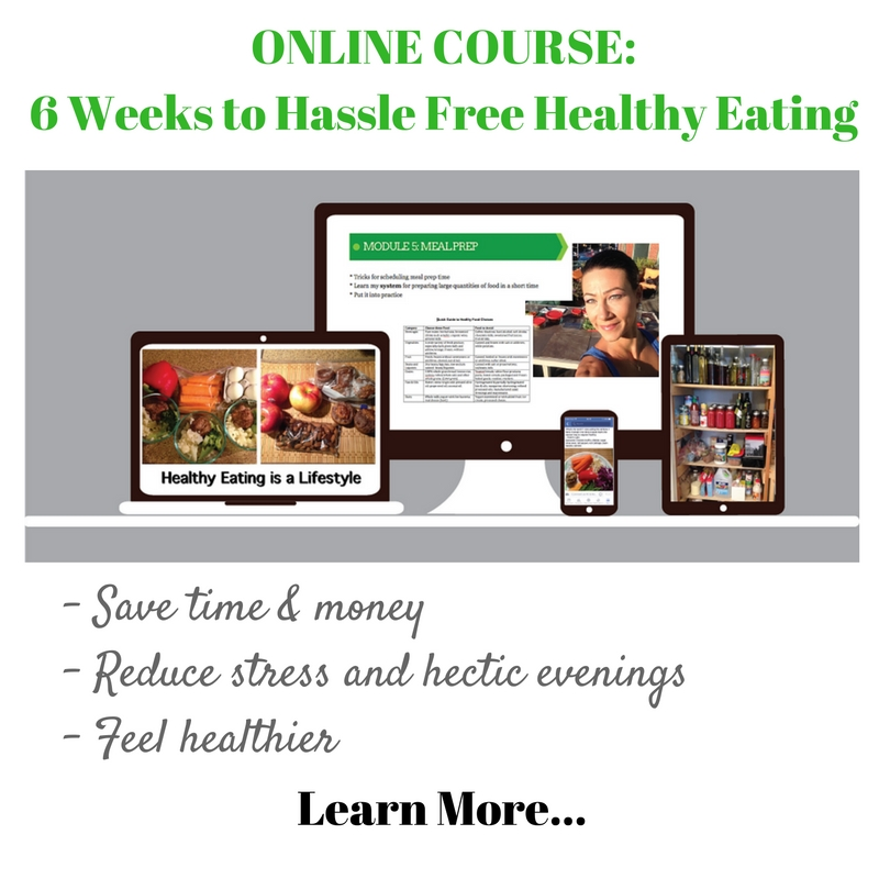 6 Weeks to Hassle Free Healthy Eating Online Course