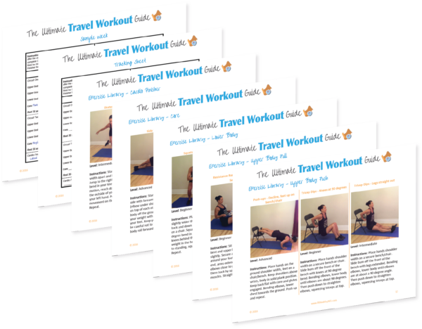 Ultimate Travel Workout Guide - exercise descriptions and tracking sheet