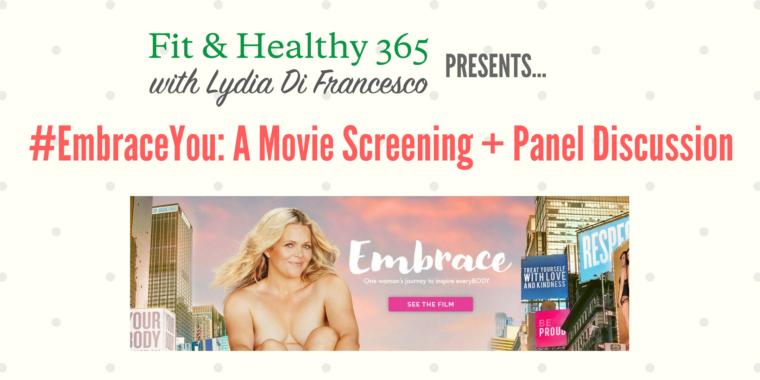 body positive Embrace movie screening