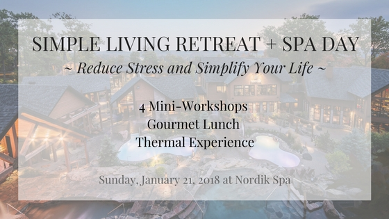 Simple Living Retreat + Spa Day